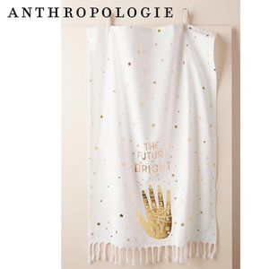 🆕Anthro The Future is Bright Dish Towel 🆓🎁